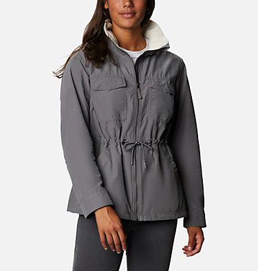 Women's Tanner Ranch™ Lined Jacket Tanner Ranch™ Lined Jacket | 010 | L, City Grey, front