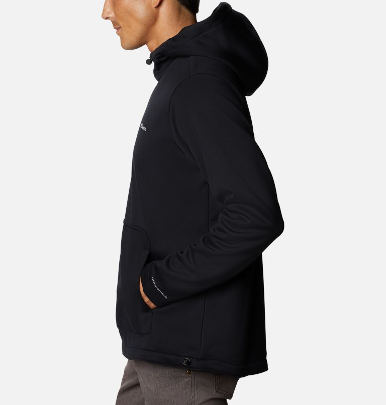 M Out-Shield™ Dry Fleece Hoodie | 010 | S Men's Out-Shield™ Dry Fleece Hoodie, Black, a1