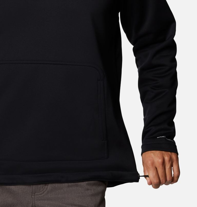 M Out-Shield™ Dry Fleece Hoodie | 010 | S Men's Out-Shield™ Dry Fleece Hoodie, Black, a3