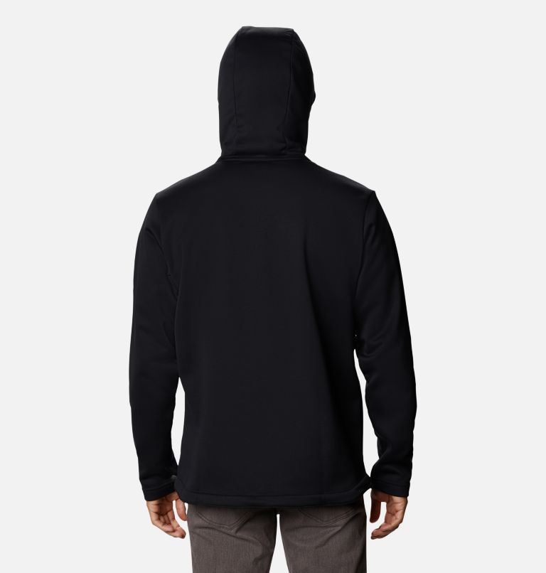 M Out-Shield™ Dry Fleece Hoodie | 010 | S Men's Out-Shield™ Dry Fleece Hoodie, Black, back