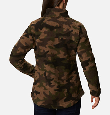 Women's West Bend™ Full Zip Fleece Jacket West Bend™ Full Zip | 316 | L, Cypress Trad Camo, back