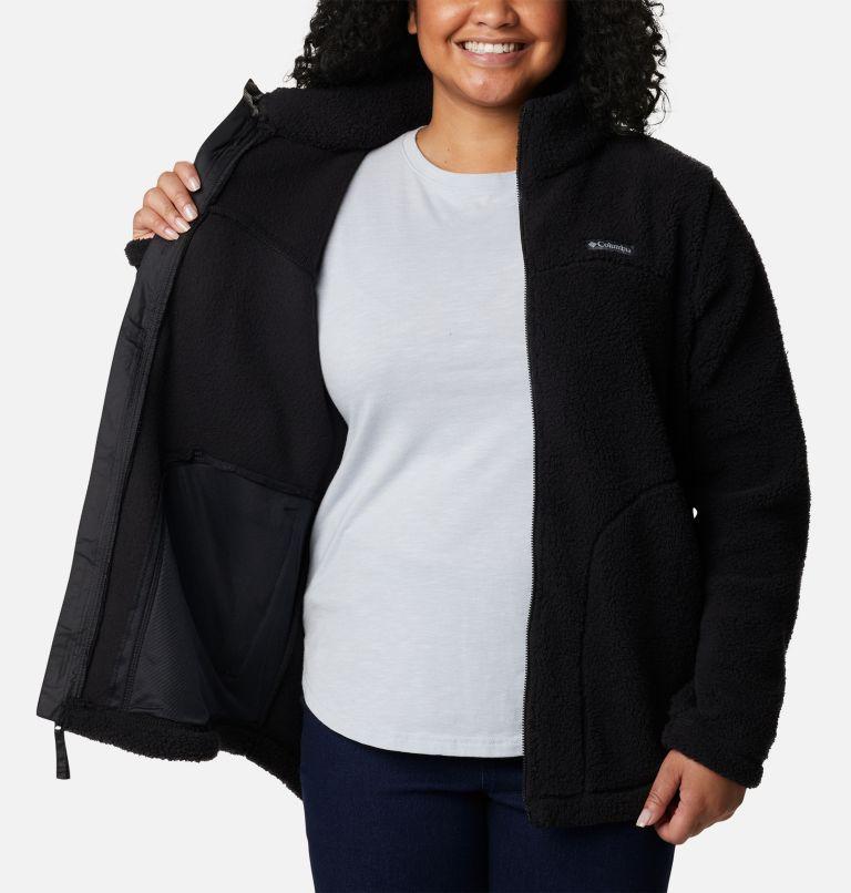 Women's West Bend Full Zip Fleece Jacket - Plus Size Women's West Bend Full Zip Fleece Jacket - Plus Size, a3