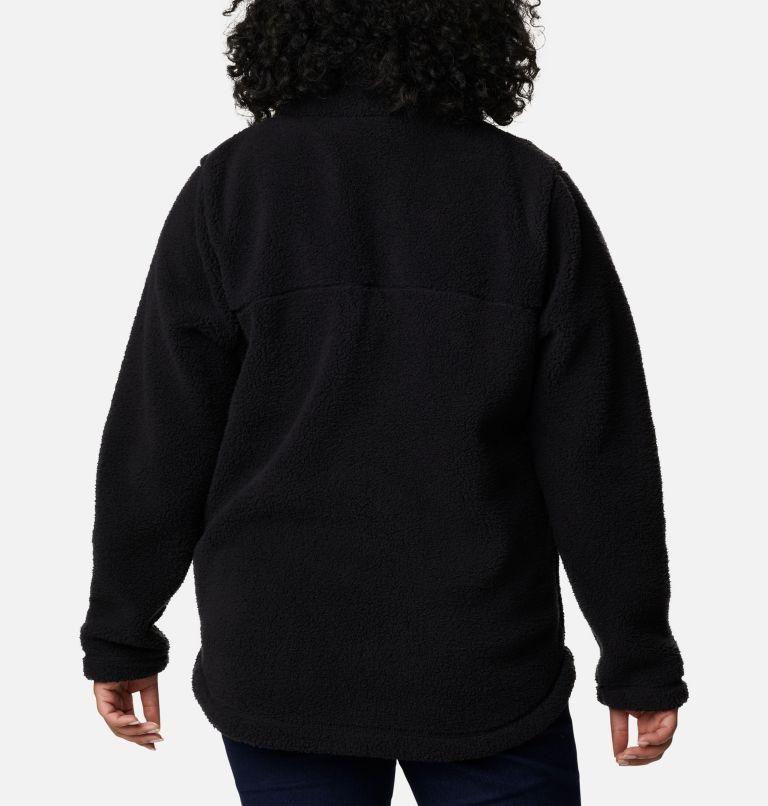 Women's West Bend Full Zip Fleece Jacket - Plus Size Women's West Bend Full Zip Fleece Jacket - Plus Size, back