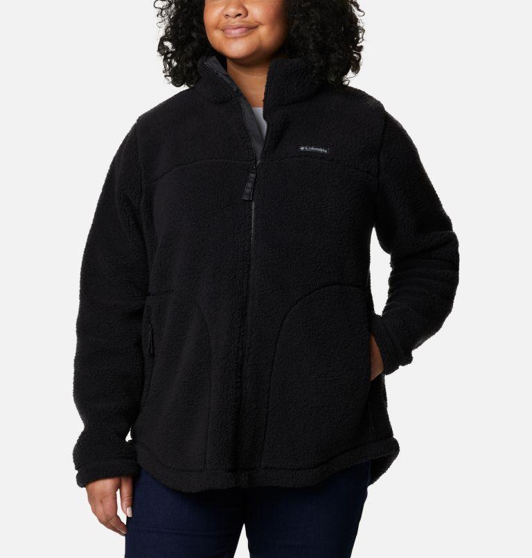 Women's West Bend Full Zip Fleece Jacket - Plus Size Women's West Bend Full Zip Fleece Jacket - Plus Size, front
