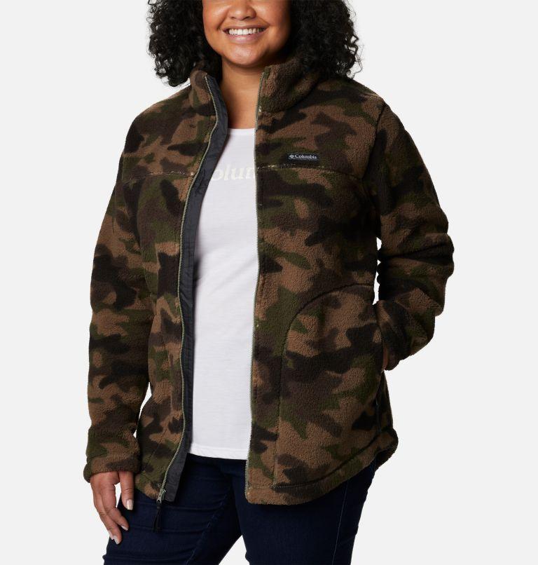 Women's West Bend Full Zip Fleece Jacket - Plus Size Women's West Bend Full Zip Fleece Jacket - Plus Size, a4