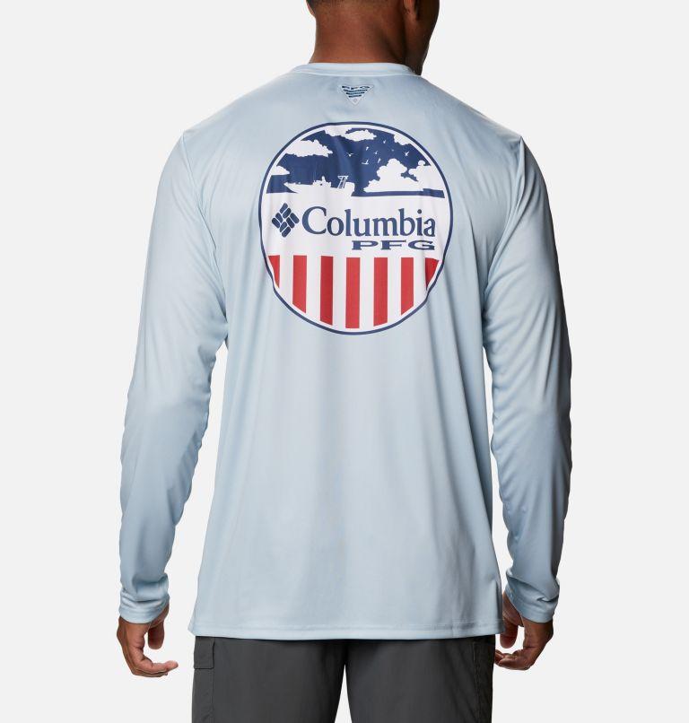 Men's PFG Terminal Tackle™ Patriot Long Sleeve Shirt Men's PFG Terminal Tackle™ Patriot Long Sleeve Shirt, front