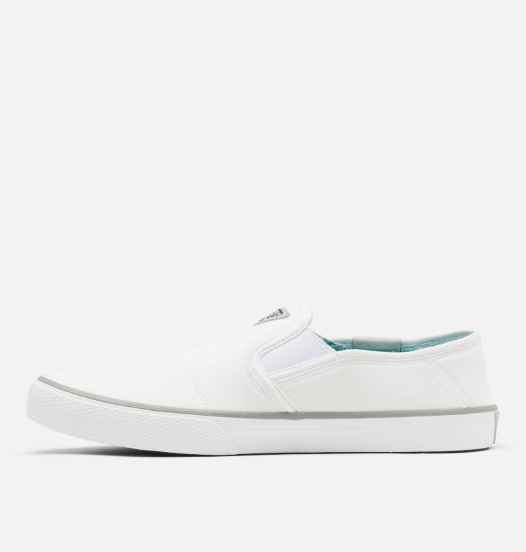 SLACK TIDE™ SLIP PFG | 100 | 8 Men's PFG Slack Tide™ Slip Shoe, White, Steam, medial
