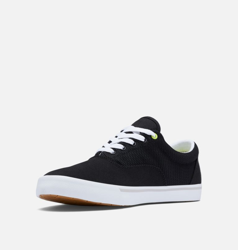 SLACK TIDE™ LACE PFG | 010 | 7.5 Men's PFG Slack Tide™ Lace Shoe, Black, White