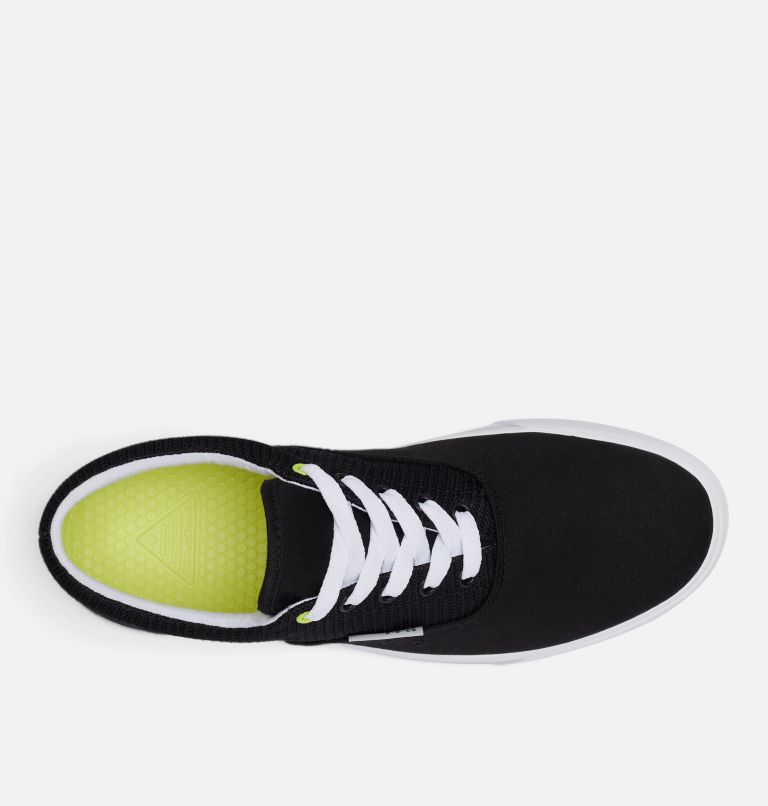 SLACK TIDE™ LACE PFG | 010 | 7.5 Men's PFG Slack Tide™ Lace Shoe, Black, White, top