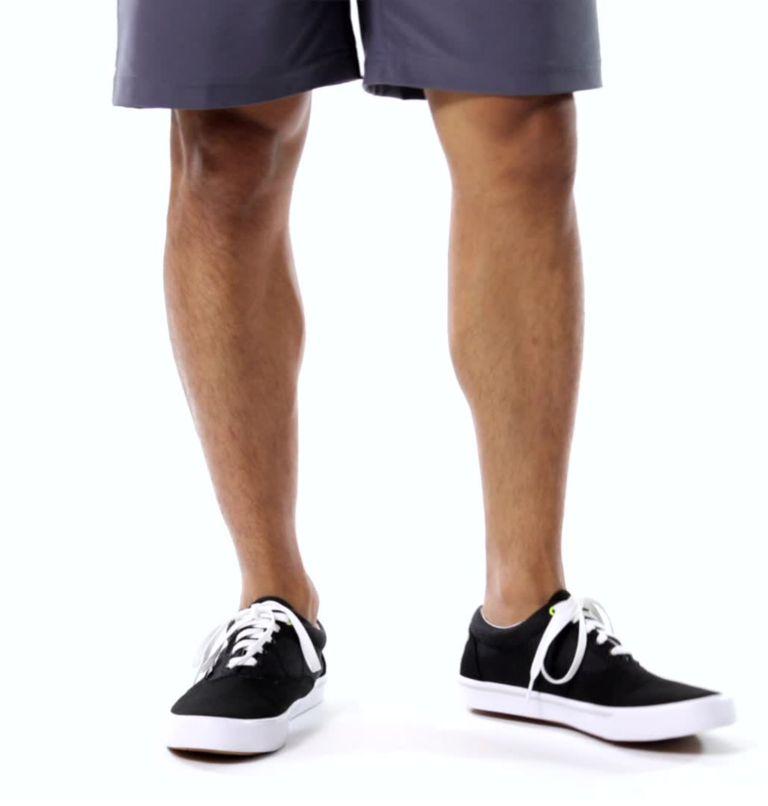SLACK TIDE™ LACE PFG | 010 | 7.5 Men's PFG Slack Tide™ Lace Shoe, Black, White, video