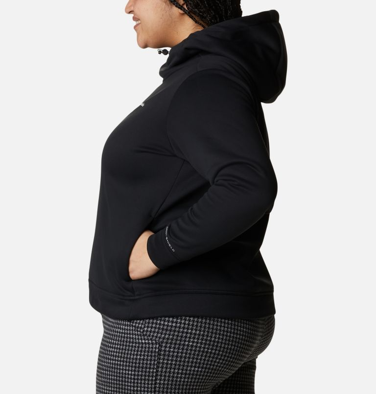 Women's Out-Shield™ Dry Fleece Hoodie - Plus Size Women's Out-Shield™ Dry Fleece Hoodie - Plus Size, a1