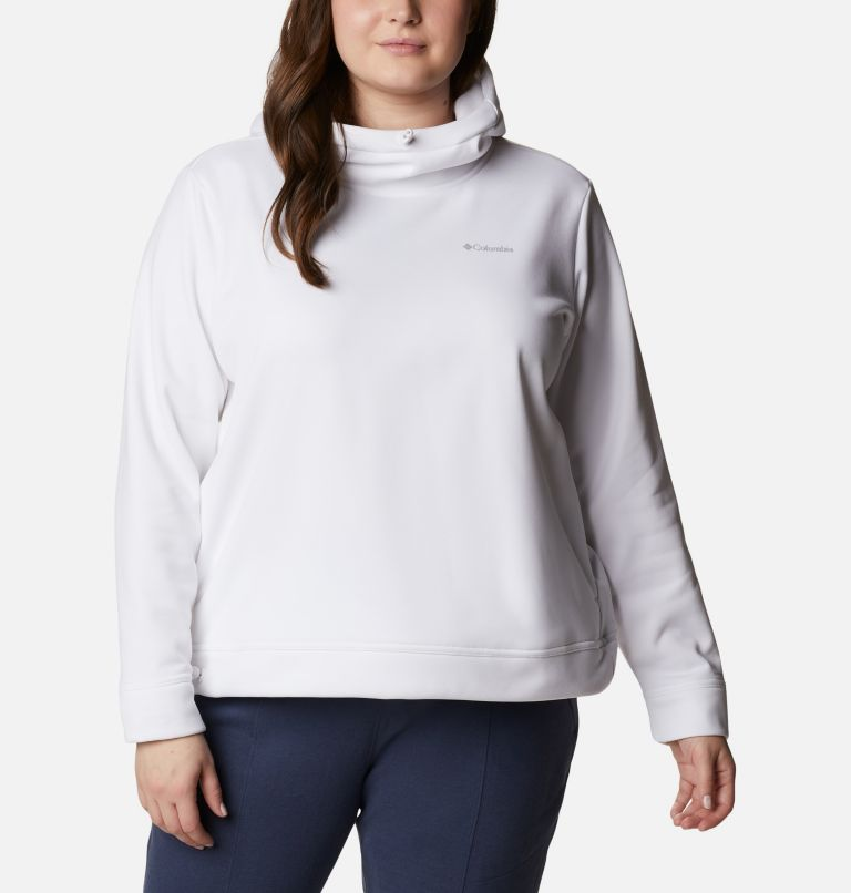 Women's Out-Shield™ Dry Fleece Hoodie - Plus Size Women's Out-Shield™ Dry Fleece Hoodie - Plus Size, front