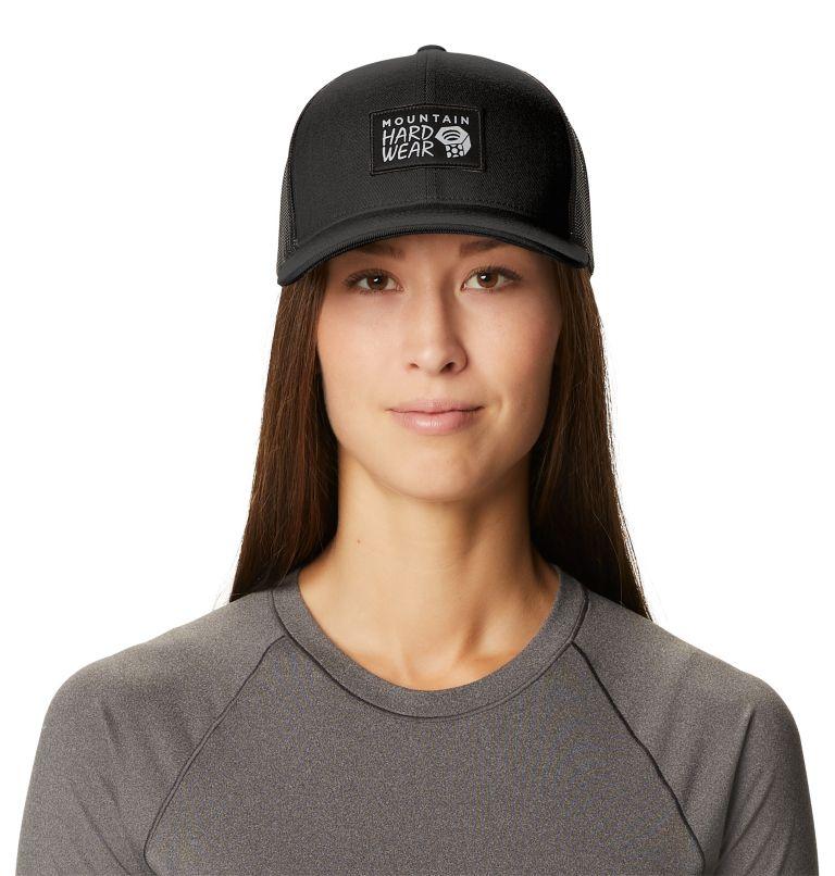 MHW Logo™ Trucker Hat   010   O/S MHW Logo™ Unisex Trucker Hat, Black, front