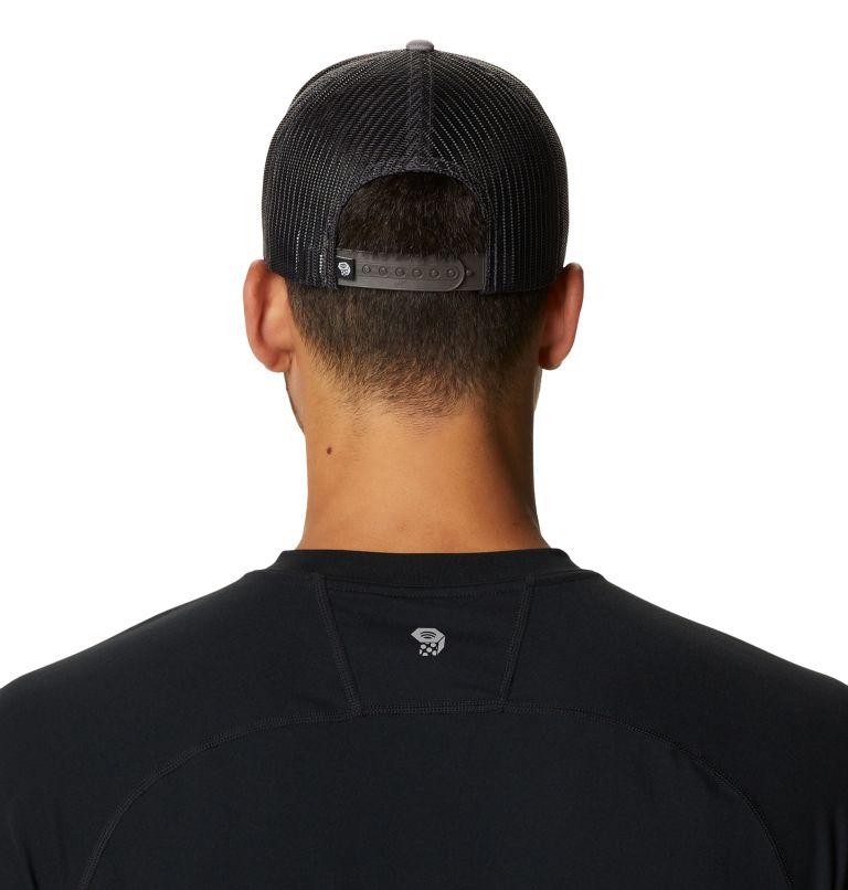 MHW Logo™ Trucker Hat   073   O/S MHW Logo™ Unisex Trucker Hat, Manta Grey, back