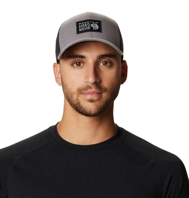MHW Logo™ Trucker Hat   073   O/S MHW Logo™ Unisex Trucker Hat, Manta Grey, front