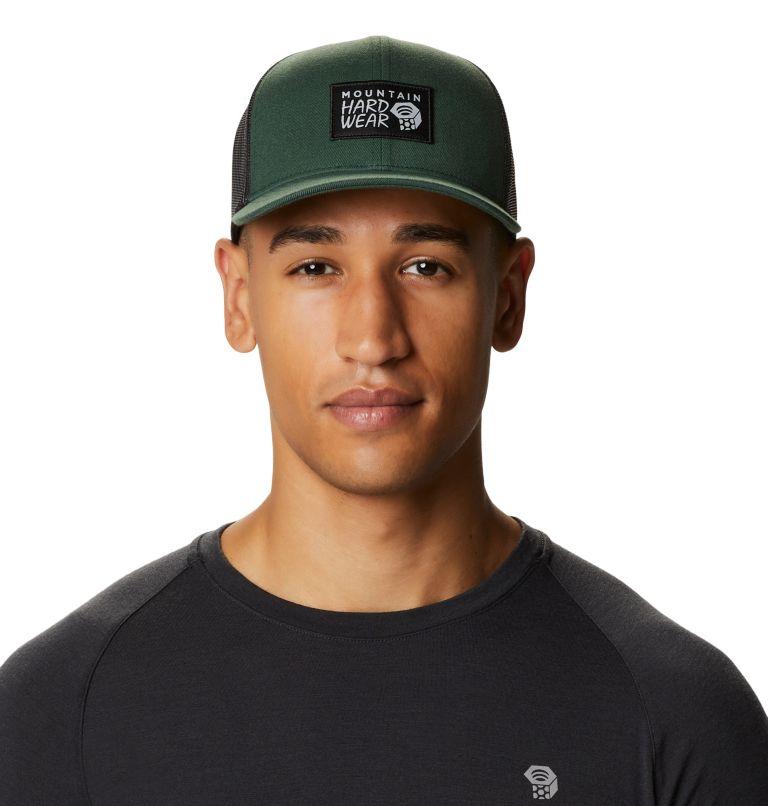MHW Logo™ Trucker Hat   352   O/S MHW Logo™ Unisex Trucker Hat, Black Spruce, front
