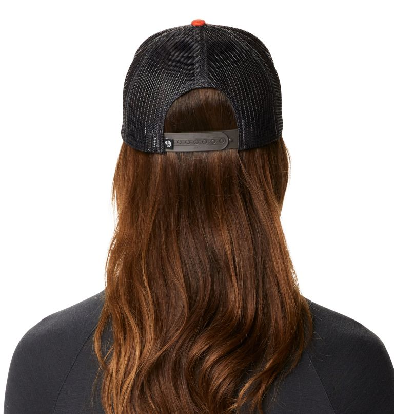 MHW Logo™ Trucker Hat | 840 | O/S MHW Logo™ Unisex Trucker Hat, Dark Clay, back