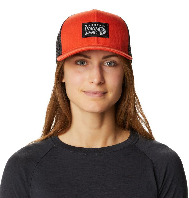 MHW Logo™ Trucker Hat | 840 | O/S MHW Logo™ Unisex Trucker Hat, Dark Clay, front