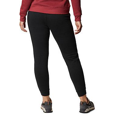 Women's Columbia™ Logo Fleece Joggers Columbia™ Logo Fleece Jogger | 397 | L, Black, back