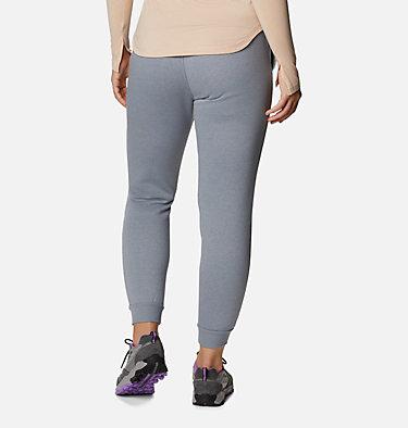 Women's Columbia™ Logo Fleece Joggers Columbia™ Logo Fleece Jogger | 397 | L, Tradewinds Grey Heather, back