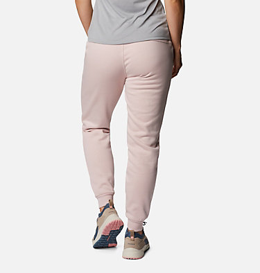 Women's Columbia™ Logo Fleece Joggers Columbia™ Logo Fleece Jogger | 397 | L, Mineral Pink, back
