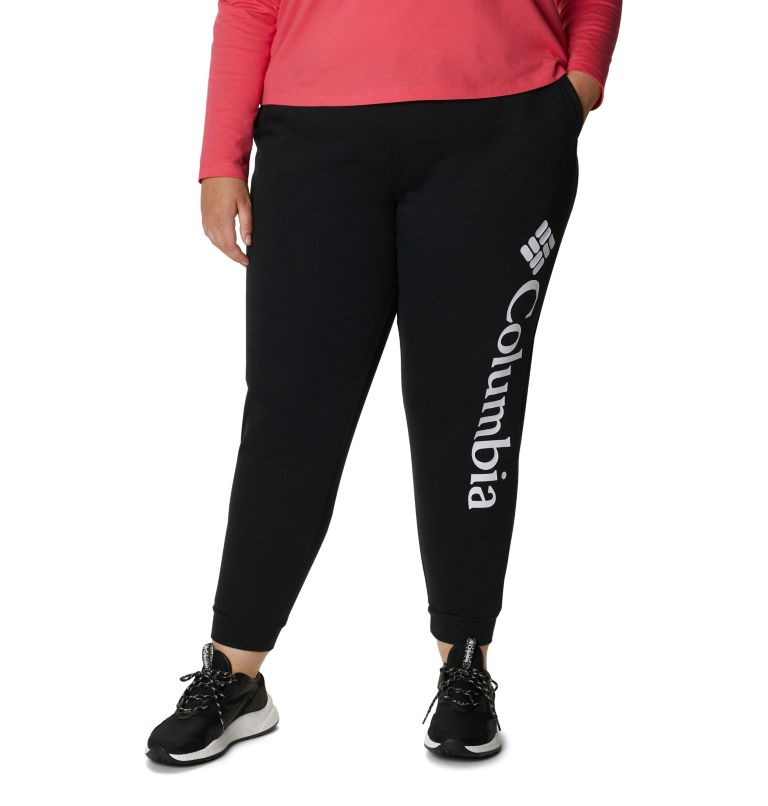 Women's Columbia™ Logo Fleece Jogger - Plus Size Women's Columbia™ Logo Fleece Jogger - Plus Size, front