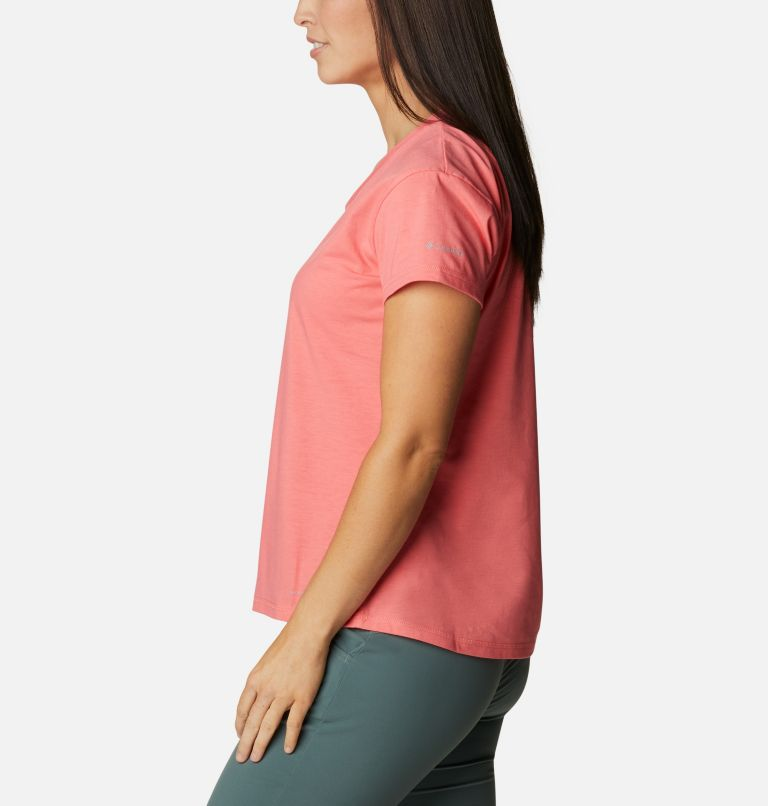 Sun Trek™ SS Tee | 699 | S Women's Sun Trek™ T-Shirt, Salmon, a1