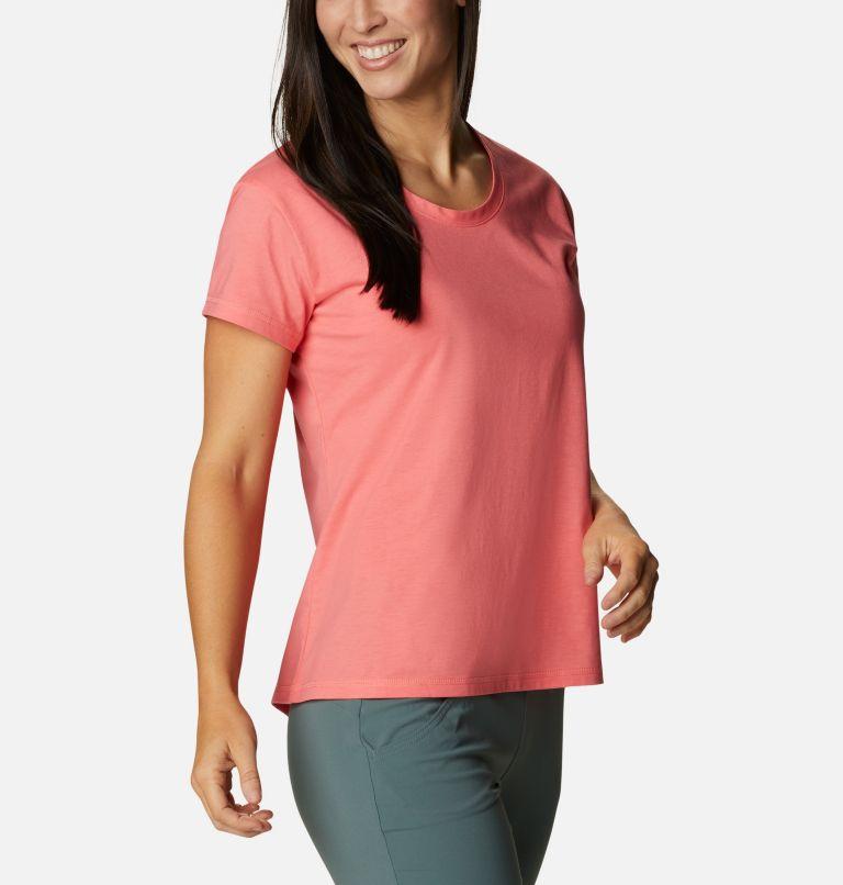 Sun Trek™ SS Tee | 699 | S Women's Sun Trek™ T-Shirt, Salmon, a3