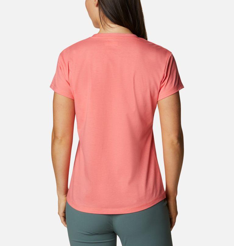 Sun Trek™ SS Tee | 699 | S Women's Sun Trek™ T-Shirt, Salmon, back