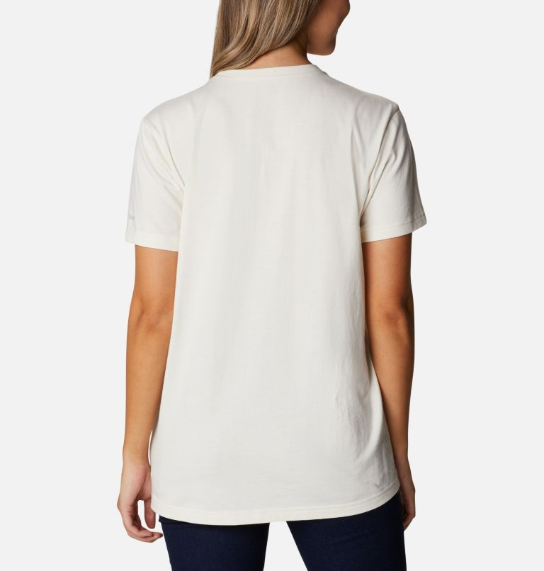 Earth Day Graphic Tee   100   S T-shirt imprimé Earth Day pour femme, Natural White, Love the Polar Bear, back