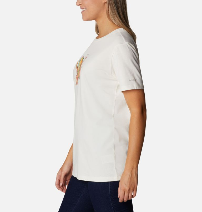 Earth Day Graphic Tee | 102 | M Women's Earth Day Organic Cotton T-Shirt, Natural White, Love the Frog, a1