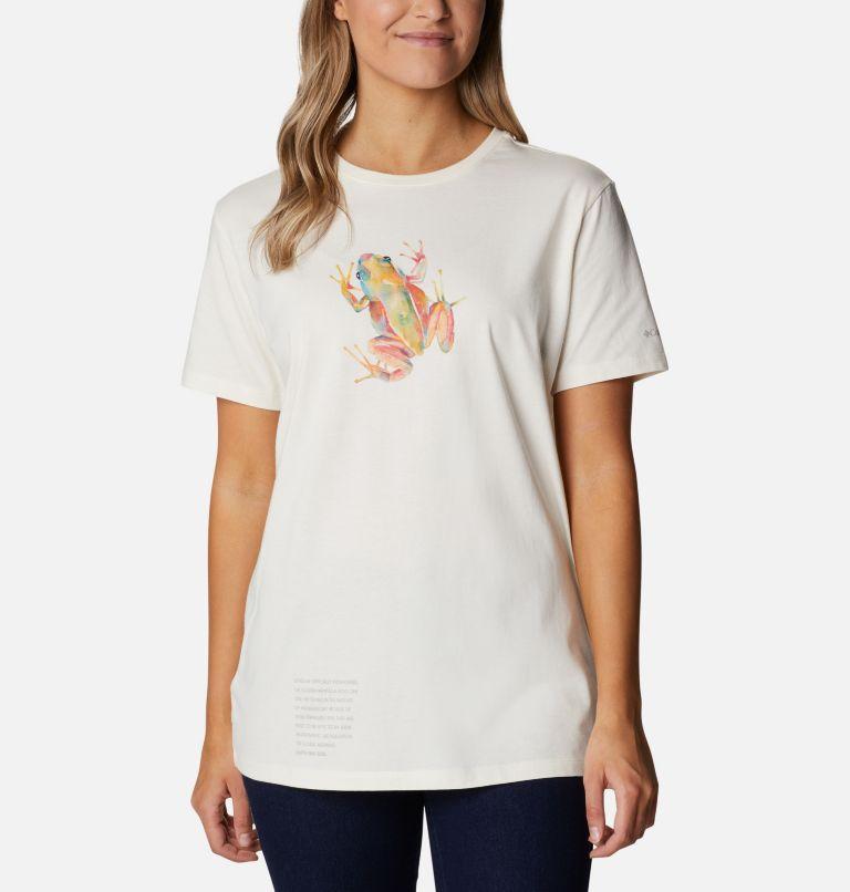 Women's Earth Day Organic Cotton T-Shirt Women's Earth Day Organic Cotton T-Shirt, front