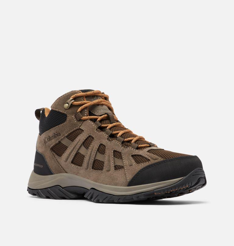 REDMOND™ III MID WATERPROOF | 231 | 8.5 Men's Redmond™ III Mid Waterproof Hiking Boot, Cordovan, Elk, 3/4 front