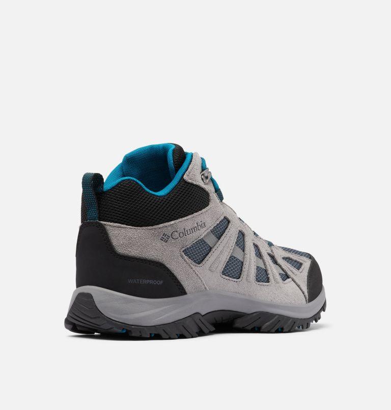 REDMOND™ III MID WATERPROOF WIDE | 053 | 7.5 Men's Redmond™ III Mid Waterproof Hiking Shoe - Wide, Graphite, Black, 3/4 back