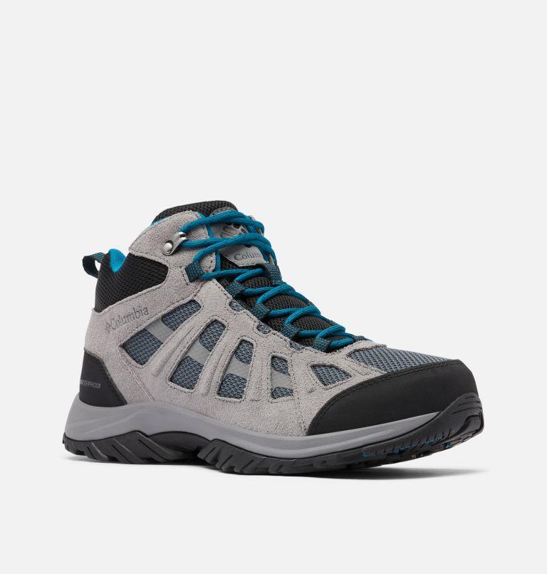 REDMOND™ III MID WATERPROOF WIDE | 053 | 11 Men's Redmond™ III Mid Waterproof Hiking Shoe - Wide, Graphite, Black, 3/4 front