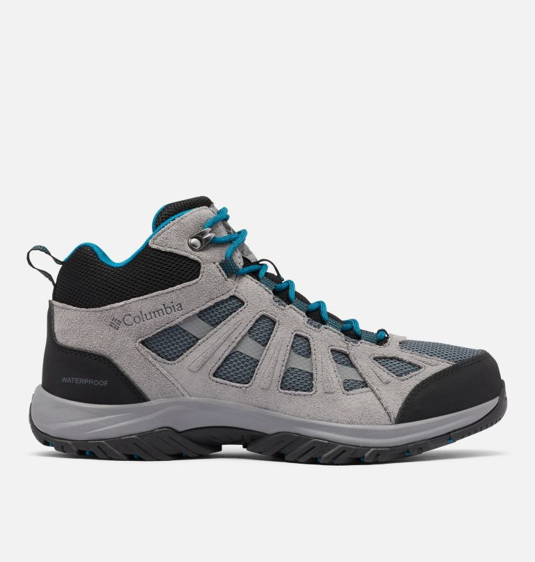 REDMOND™ III MID WATERPROOF WIDE | 053 | 9 Men's Redmond™ III Mid Waterproof Hiking Shoe - Wide, Graphite, Black, front