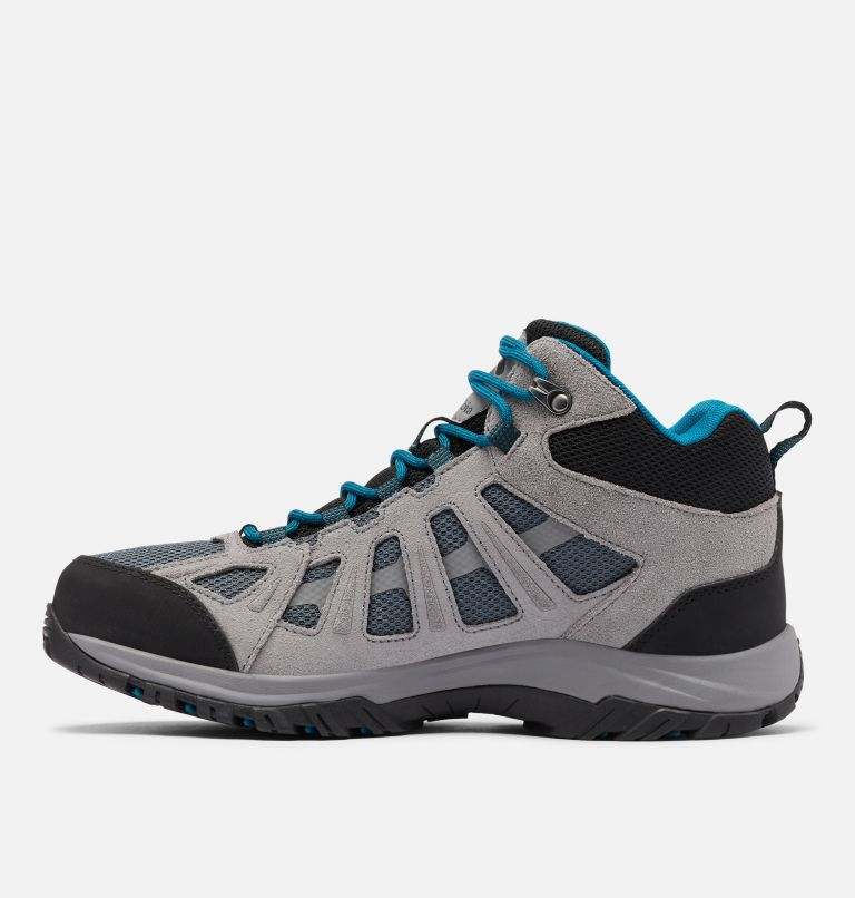 REDMOND™ III MID WATERPROOF WIDE | 053 | 9 Men's Redmond™ III Mid Waterproof Hiking Shoe - Wide, Graphite, Black, medial