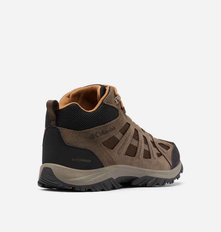 REDMOND™ III MID WATERPROOF WIDE | 231 | 10 Men's Redmond™ III Mid Waterproof Hiking Shoe - Wide, Cordovan, Elk, 3/4 back