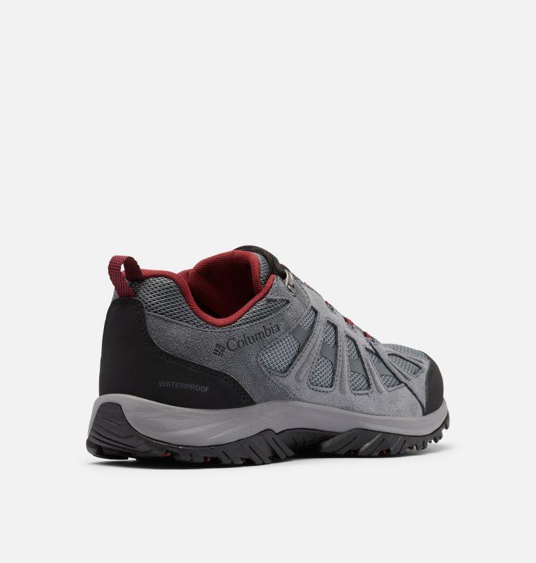 REDMOND™ III WATERPROOF | 033 | 7 Men's Redmond™ III Waterproof Hiking Shoe, ti Grey Steel, Black, 3/4 back