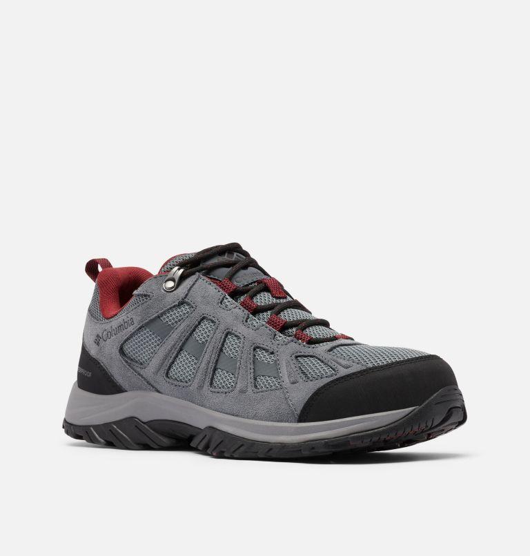 REDMOND™ III WATERPROOF | 033 | 7 Men's Redmond™ III Waterproof Hiking Shoe, ti Grey Steel, Black, 3/4 front