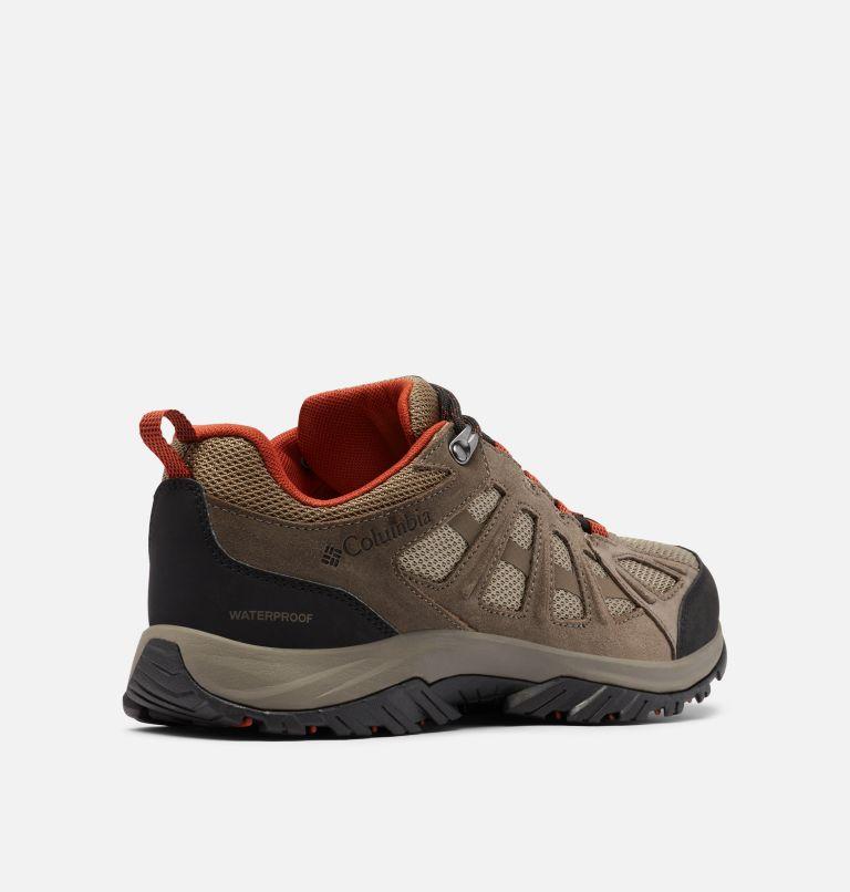 REDMOND™ III WATERPROOF WIDE | 227 | 7.5 Men's Redmond™ III Waterproof Hiking Shoe - Wide, Pebble, Dark Sienna, 3/4 back