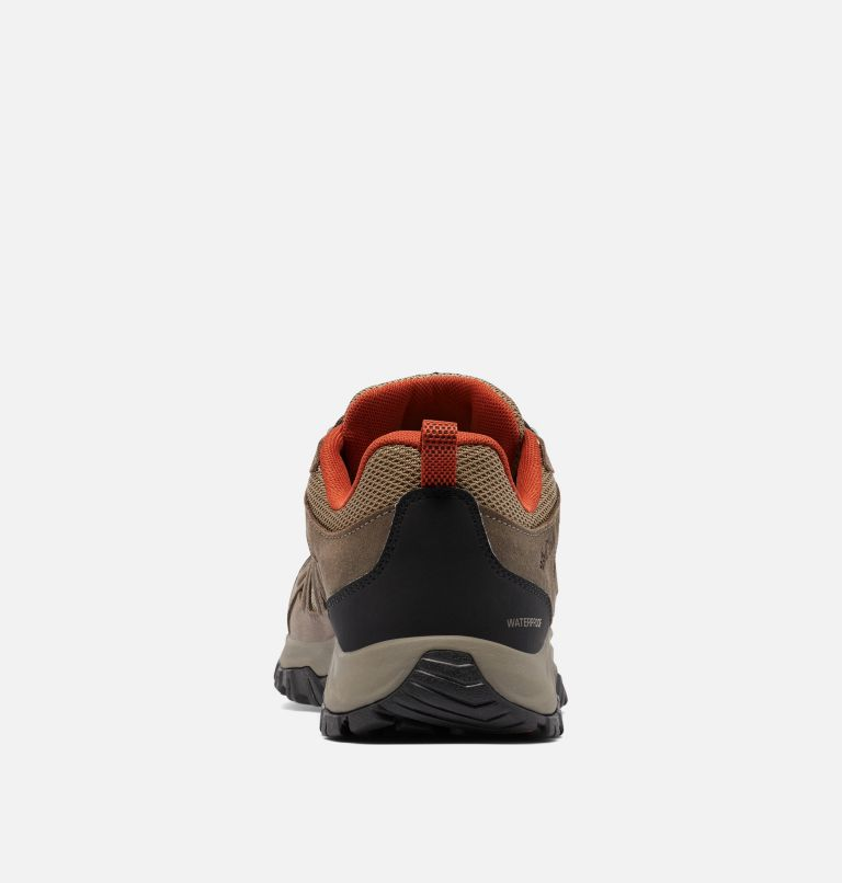 REDMOND™ III WATERPROOF WIDE | 227 | 7.5 Men's Redmond™ III Waterproof Hiking Shoe - Wide, Pebble, Dark Sienna, back