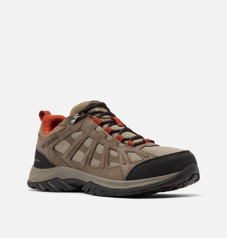 REDMOND™ III WATERPROOF WIDE | 227 | 7.5 Men's Redmond™ III Waterproof Hiking Shoe - Wide, Pebble, Dark Sienna, 3/4 front