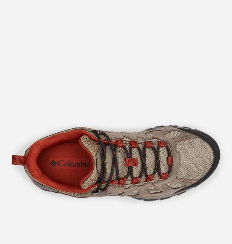 REDMOND™ III WATERPROOF WIDE | 227 | 7.5 Men's Redmond™ III Waterproof Hiking Shoe - Wide, Pebble, Dark Sienna, top
