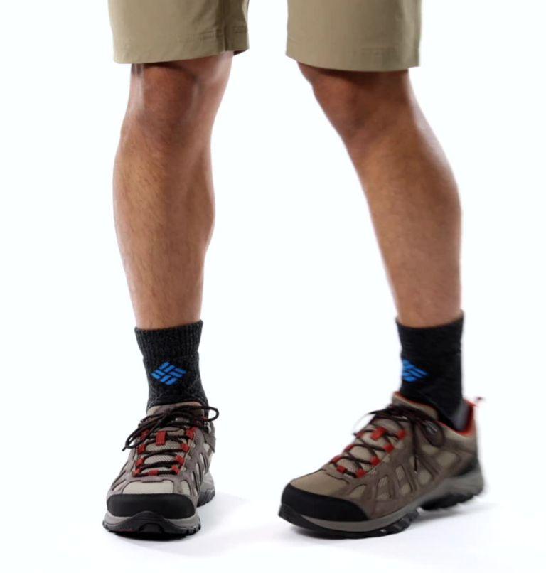 REDMOND™ III WATERPROOF WIDE | 227 | 10 Men's Redmond™ III Waterproof Hiking Shoe - Wide, Pebble, Dark Sienna, video