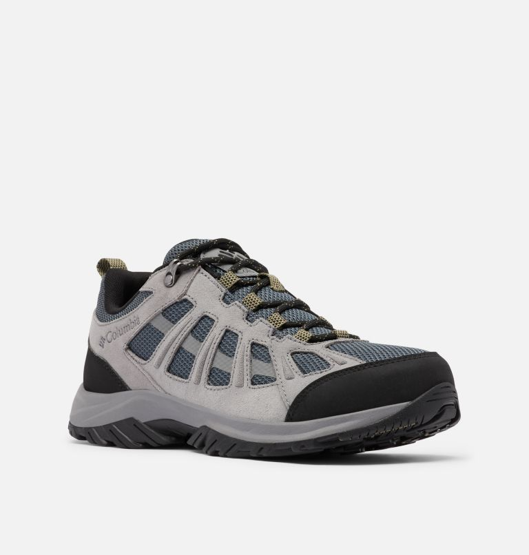REDMOND™ III | 053 | 10.5 Men's Redmond™ III Hiking Shoe, Graphite, Black, 3/4 front