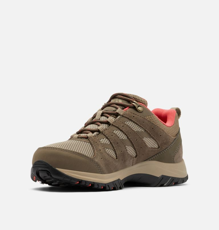REDMOND™ III WATERPROOF | 227 | 8.5 Women's Redmond™ III Waterproof Hiking Shoe, Pebble, Red Coral