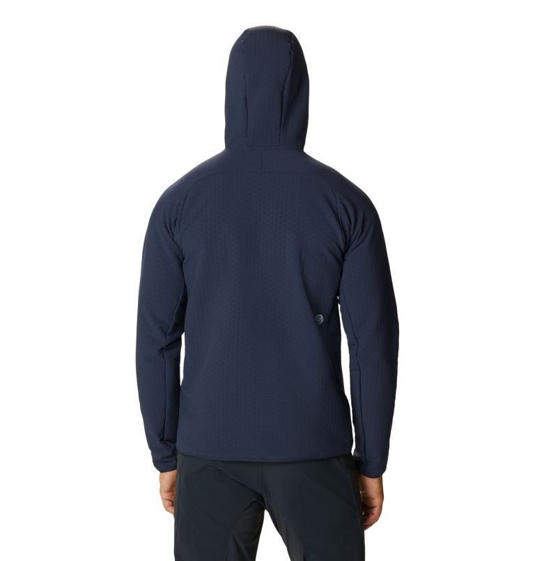 Keele™ Grid Hoody | 406 | XXL Men's Keele™ Grid Hoody, Dark Zinc, back