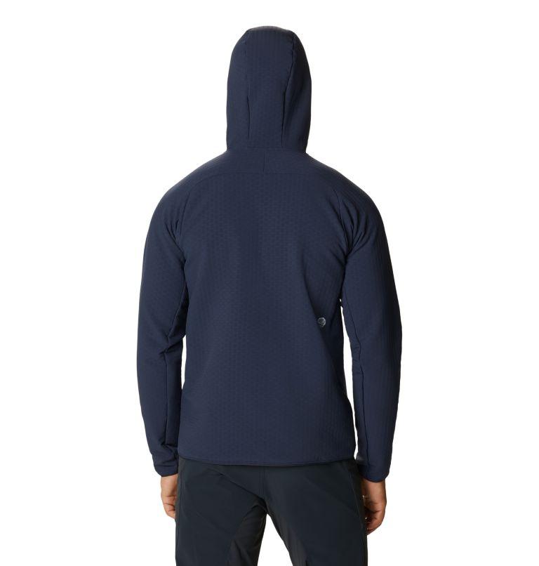 Keele™ Grid Hoody | 406 | L Men's Keele™ Grid Hoody, Dark Zinc, back