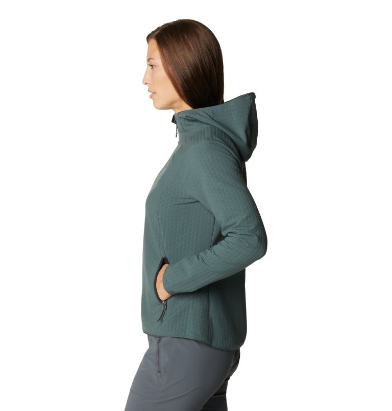 Women's Keele Grid Full Zip Hoody Women's Keele Grid Full Zip Hoody, a1